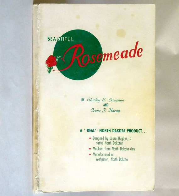 Beautiful Rosemeade 1986 by Shirley L. Sampson & Irene J. Harms - Signed - Collectibles Pottery Reference