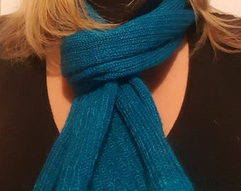 Scarf mohair and silk Fantasia Christmas gift for woman