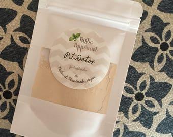 Pit Detox, underarm detox, natural deodorant preparation
