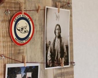 Reclaimed pallet wood photo Board