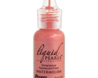 Sweet Hearts Sale: Ranger Liquid Pearls - Watermelon 0.5 oz