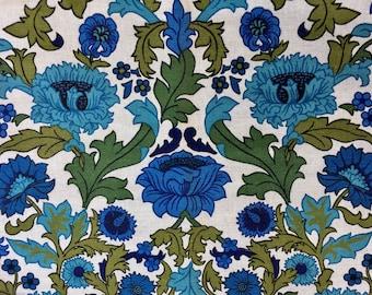 Vintage Gabrielle Cie Fabric | Like New | Super Vivid | Linen | 1970s