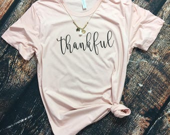 Womens Thankful shirt
