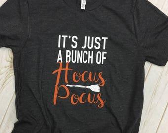 Its just a bunch of Hocus Pocus Child tee shirt t-shirt girls toddler
