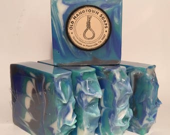 Salty Mariner Soap, Cold Process Soap, Homemade Soap, Handmade Soap, Vegan Soap