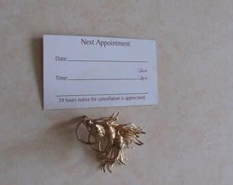 Vintage Acorn/Pine Tree brooch