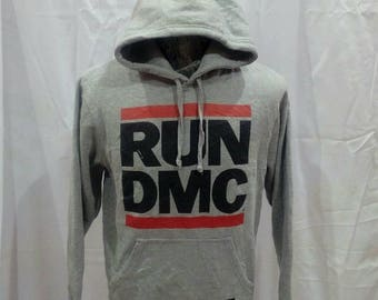 Sweatshirt Hoodie Run DMC big logo