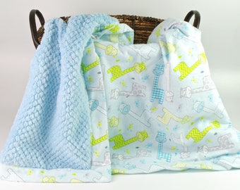 Baby Blankets  - Personalized baby blanket