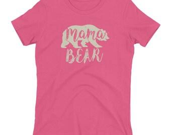 Mama Bear Fun Novelty T-Shirt for Mothers & Moms Women's t-shirt