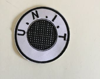 U.N.I.T. Doctor Who Inspired Patch Iron On Sew On