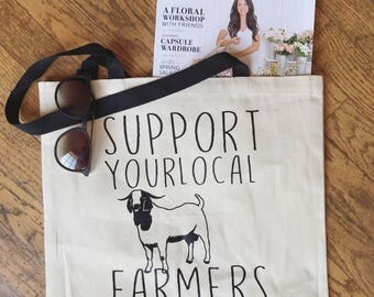 Support your local farmers tote