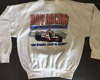 Vintage Indy Racing League Crewneck