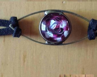 Black and red eye bracelet
