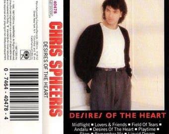 Chris Spheeris - Desires of the Heart 1984 audio cassette tape