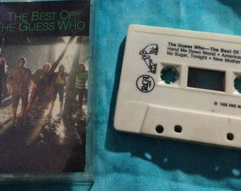 The Best Of The Guess Who audio cassette tape