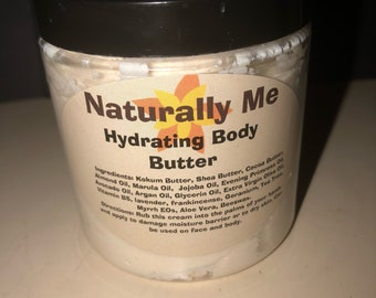 Hydrating Body Butter also repairs the moisture barrier 2 oz. & 4 oz.