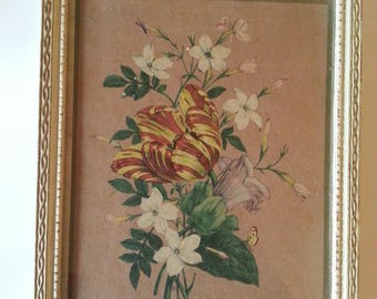 Vintage Botanical Flower print