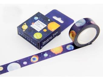 Masking Tape planet/PAPER Tape/Deco Tape/washi tape
