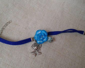 """name of the Blue rose"" bracelet"