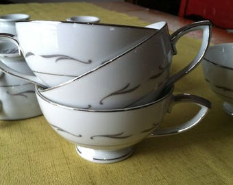 Mikasa China Tea cups Concordia set of 10