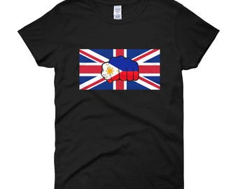 UK-Philippines flag Giladan 5000L woman size