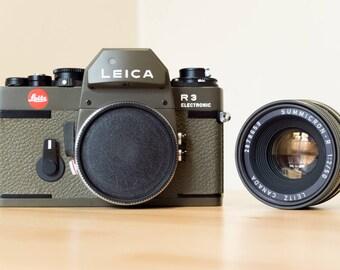 Leica R3 Safari + Summicron 50mm f/2 Safari NEW IN BOX