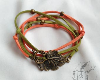 Double bracelet or necklace of summer. Exclusive design