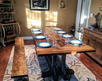 Farmhouse Table, Dining Room Table  Local Pick Up Only
