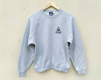 Vintage Le coq Sportif small logo sweatshirt
