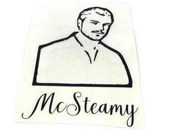 McSteamy Instant Pot Decal , instant pot decal , mcsteamy decal , greys anatomy decal , vinyl decal , vinyl instant pot decal