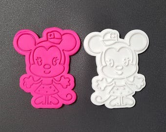 Young Minnie Cookie Cutter and Stamp