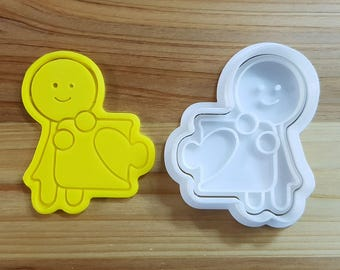 Where is my love (Woman) Cookie Cutter and Stamp