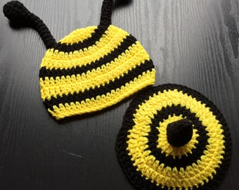 Baby bee outfit - Bee outfit - Bumble bee outfit - Bee costume - Bumble bee costume - Bee hat - Bumble bee baby - Bee baby shower