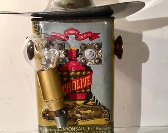 Robot Lamp Cowboy