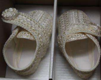 Zapatos de Bebe para Bautizo, Baby Baptism shoes
