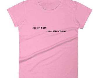 Frank Ocean Song Lyrics Gift Idea Women's short sleeve t-shirt