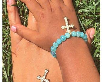 Matching Mommy Daughter Bracelet Set