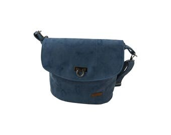 LeKo-Design-chic shoulder bag made of synthetic leather, cork, for women