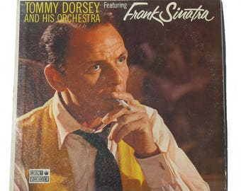 Tommy Dorsey Orchestra Vinyl Record, Vintage Record Albums, Music Record, Music Craft Supply, LP Album, Vinyl LP Records , Frank Sinatra