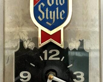 Old Style vintage clock