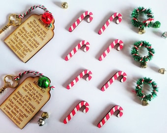 Santa's Magic Key, Christmas Eve box, Magic Key, Santa Key, Magic Santa Key, Kids Magic Key