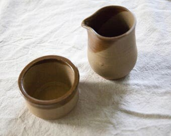 Vintage Ceramic Cream & Sugar Container