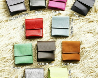 Jaden Abercio Mini Leather Wallet