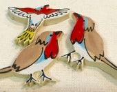 Yard Birds Handmade Ceram...