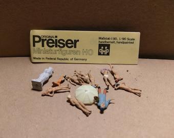 Preiser Miniaturfiguren HO German Model Train Figures