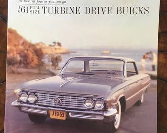 Buick Turbine Drives 1961 Sales Brochure