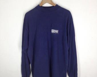 Perry Ellis// long sleeved t- shirt/ 100% cotton