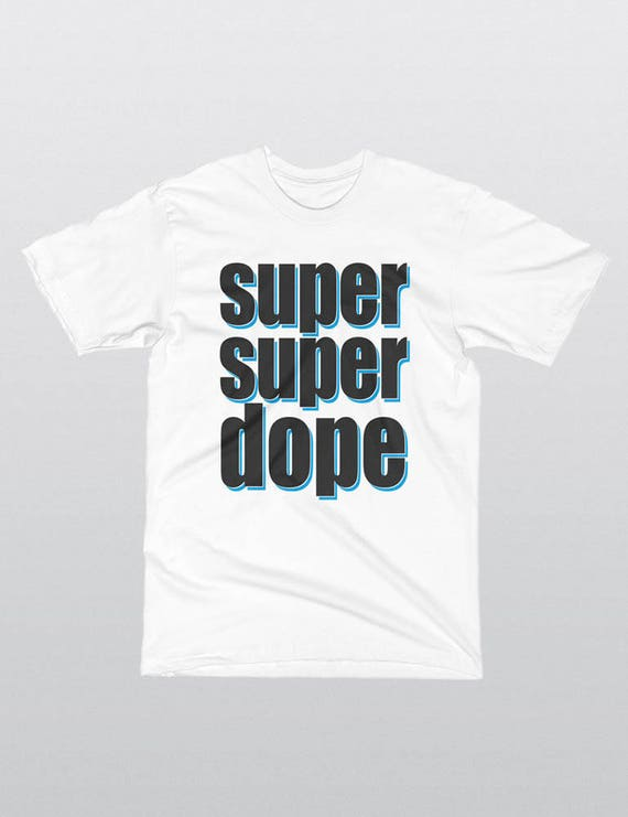 SUPER SUPER DOPE | La Apparel 20001 Fine Jersey Short Sleeve Unisex T-Shirt