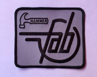 FAB HAMMER BOWLING Logo Patch L@@K Bowling Teams Sports