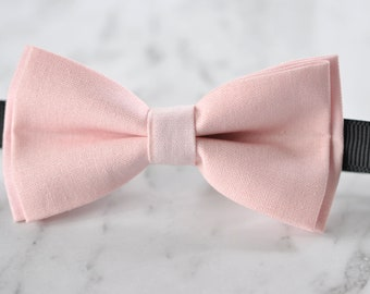 Boy Kids Baby 100% Cotton Handmade Baby Pink Bow Tie Bowtie Party Wedding Page Boy 1-6 Years Old